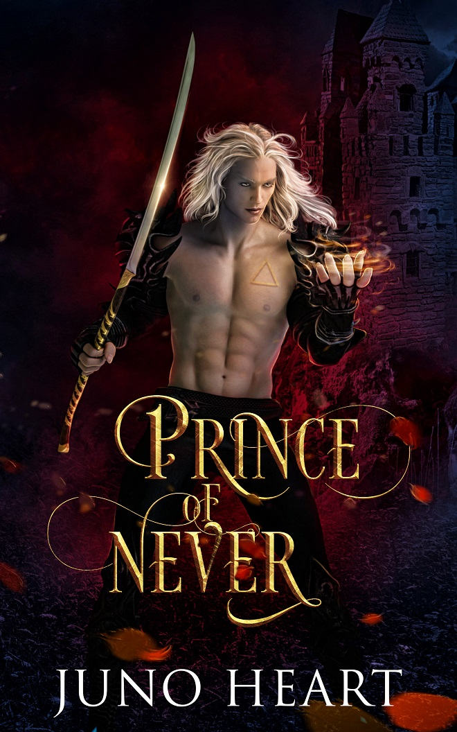 Fae Romance - Prince of Never by Juno Heart. Enemies to lovers paranormal romance.