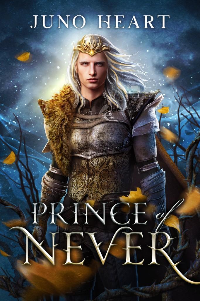 Prince of Never by Juno Heart. A YA fantasy romance. Fae romance book.