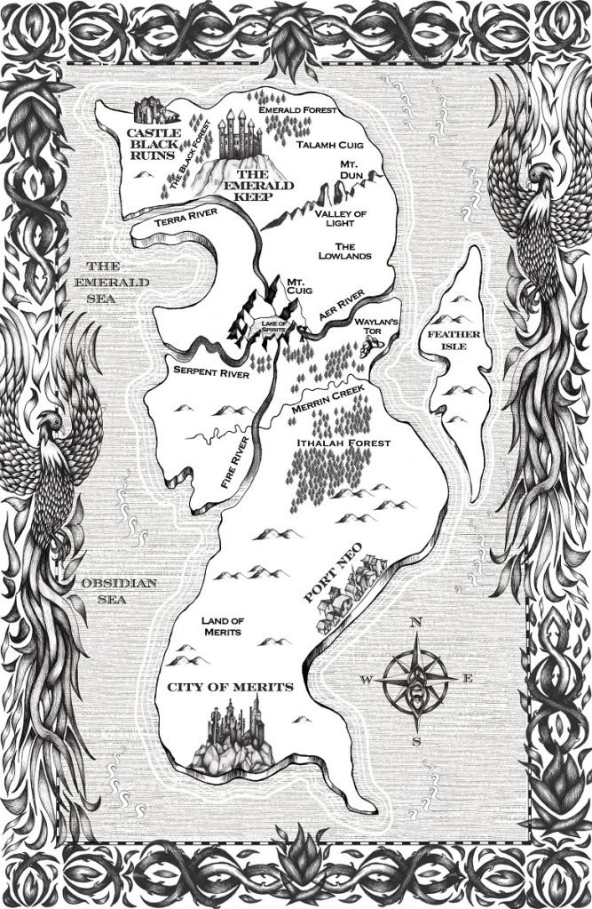 King of Always YA Fantasy Map